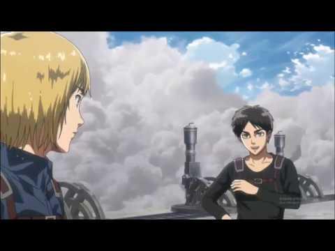 Eren Destroys Big Titan | Attack On Titan Season 3 Episode ...