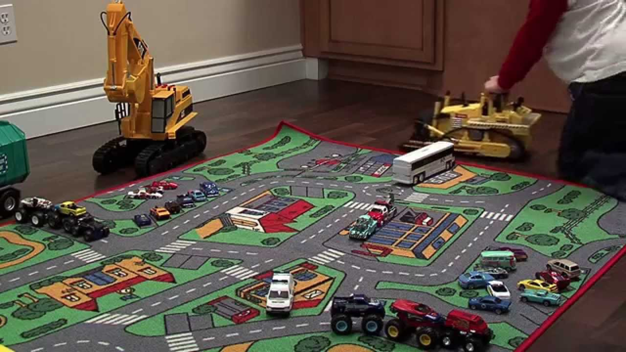 Toy Cars And Trucks (Short Version With Notes)