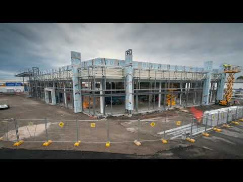AHG | Holden Showroom | South Melbourne | Time-lapse