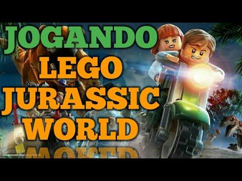 JOGANDO LEGO JURASSIC WORLD PELA PRIMEIRA VEZ