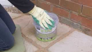 How to repoint a wall - U-CAN Ready to Use Pointing Mortar