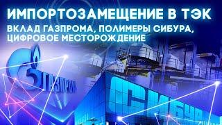 Импортозамещение в ТЭК: вклад Газпрома, полимеры Сибура, цифровое месторождение Роснефти. [12+]