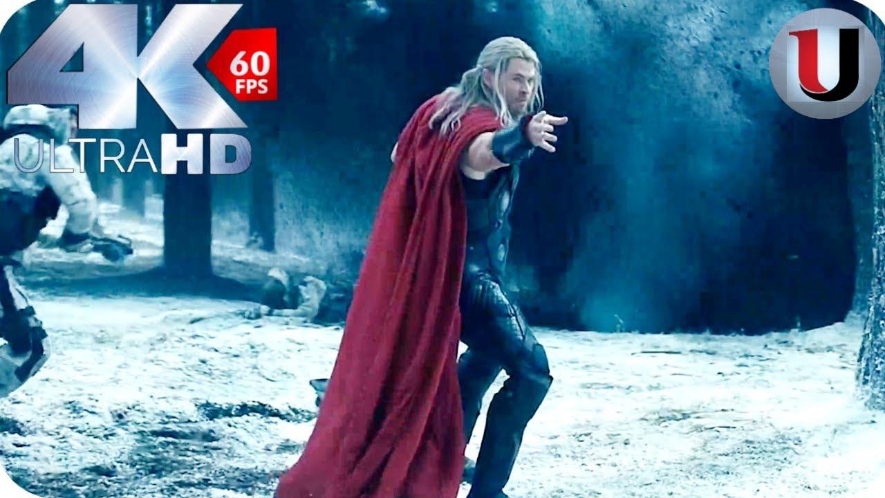 Download Avengers vs HYDRA - Opening Scene - Avengers Age of Ultron - 2015 MOVIE CLIP (4K)