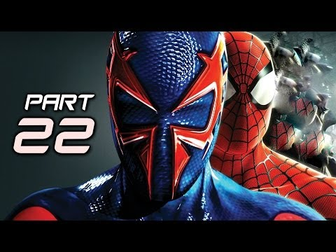 The Amazing Spider Man 2 Game Gameplay Walkthrough Part 22 - 2099 Suit (Video Game)