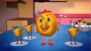 I'm a Little Teapot - 3D Animation English Nursery Rhymes For children with Lyrics