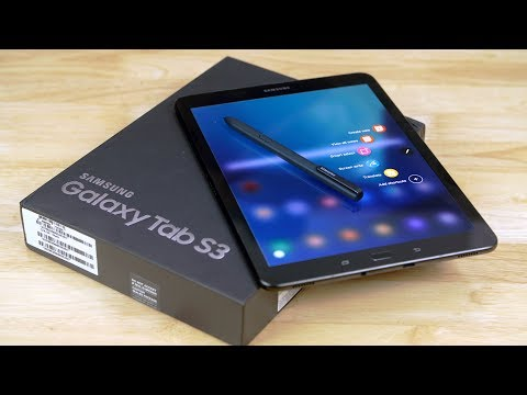 Samsung Galaxy Tab S3 - Unboxing & Hands On!