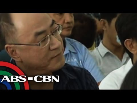 Police arrest, Globe Asiatic President Delfin Lee