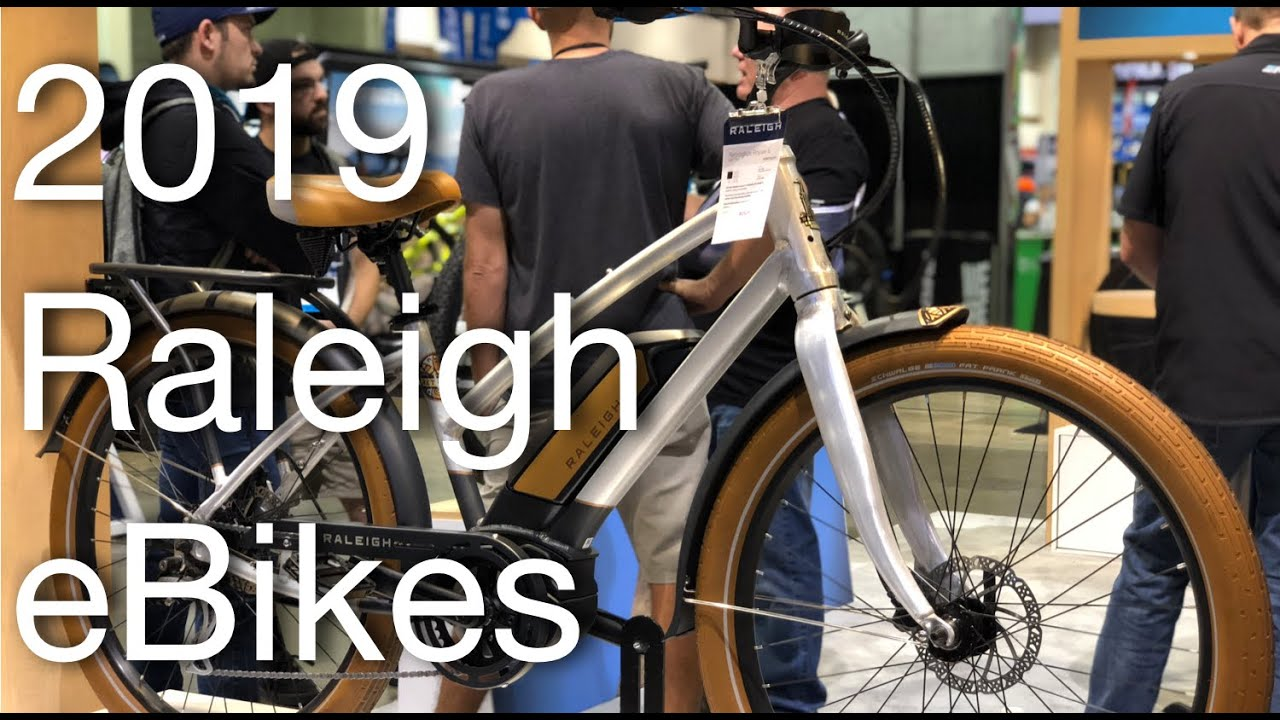 2019 Raleigh eBikes: eMTB, eCommuters, eCruisers, eGravel, & More! |  Electric Bike Report