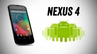 New Google Nexus 4 Pre Review (Hands On Footage, Specs, Pricing + Nexus 10)