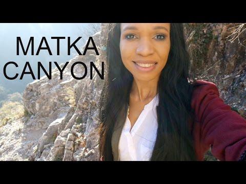 Matka Canyon Hiking and Boat Tour | GGP Travel Vlog