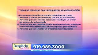 Vasquez Law Firm, PLLC Video - Despierta Raleigh Nuevas Prioridades de Inmigración para Deportar