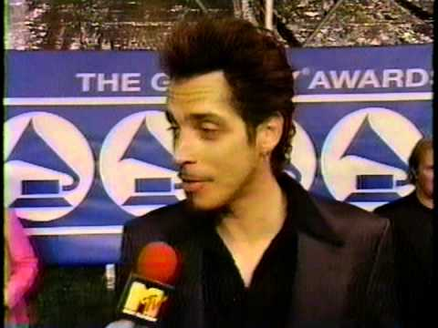 Soundgarden - Chris Cornell Pre Show  1997 Grammy Interview