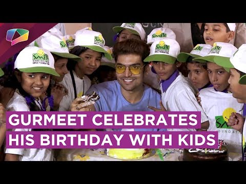 Gurmeet Chaudhary Celebrates His Birthday With Underprivileged Kids