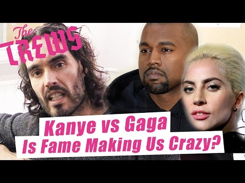 Kanye vs Gaga - Is Fame Making Us Crazy? Russell Brand The Trews (E377)