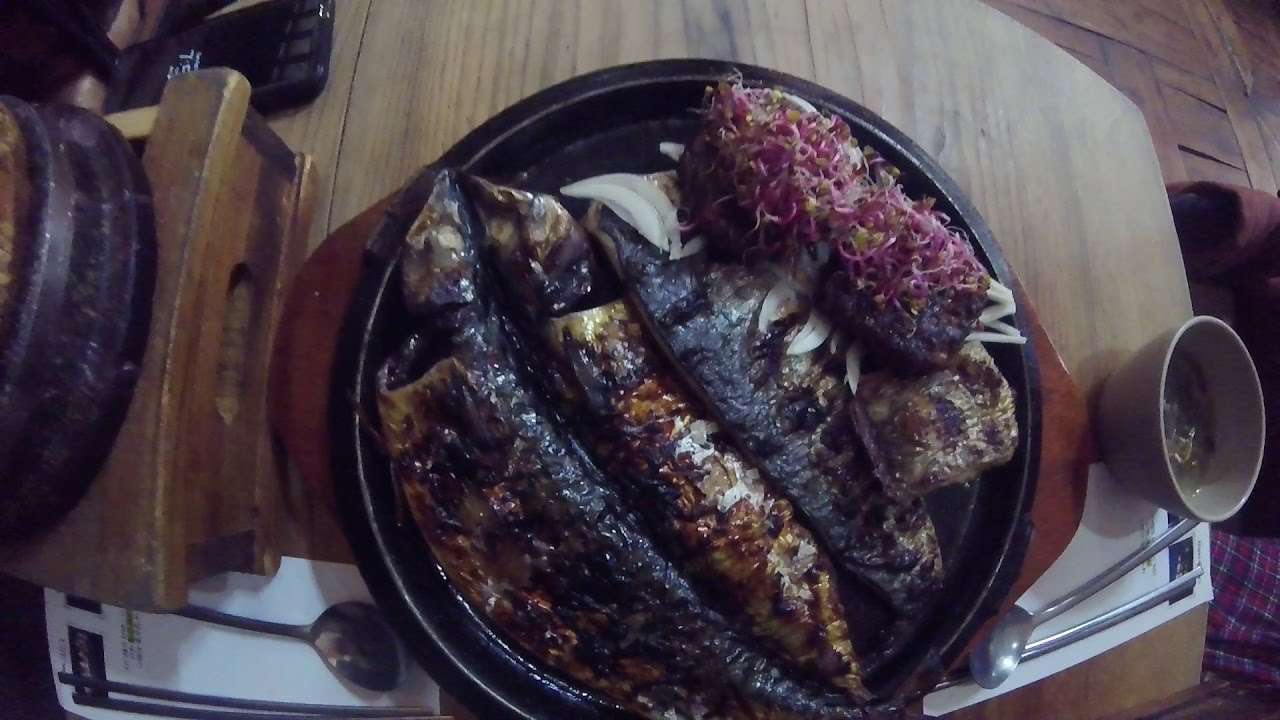 Resultado de imagen de Saengseon gui (생선구이)