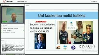 Henri Tuomilehto - Kallisarvoinen uni | Firstbeat Webinaari