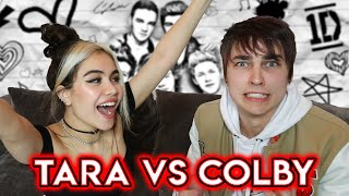 Who Knows One Direction Better? Tara vs Colby