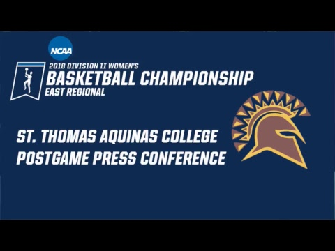 NCAA Division II WBB East Regional Post-Game Conference: St. Thomas Aquinas College