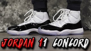 Air Jordan 11 CONCORD Review!