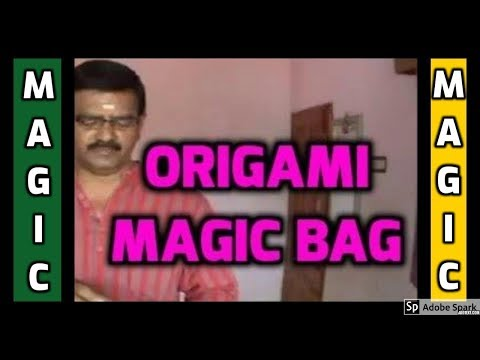 MAGIC TRICKS VIDEOS IN TAMIL #471 I ORIGAMI MAGIC BAG @Magic Vijay