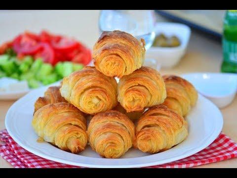 Puf Puf Kabaran Sodalı Katmer Börek ( Hazır yufkadan,el açması tadında bir lezzet)