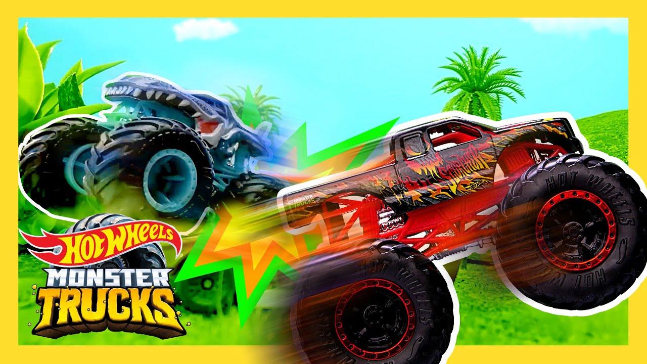 Hot Wheels Truck's Play Time!   Monster Trucks   Hot Wheels