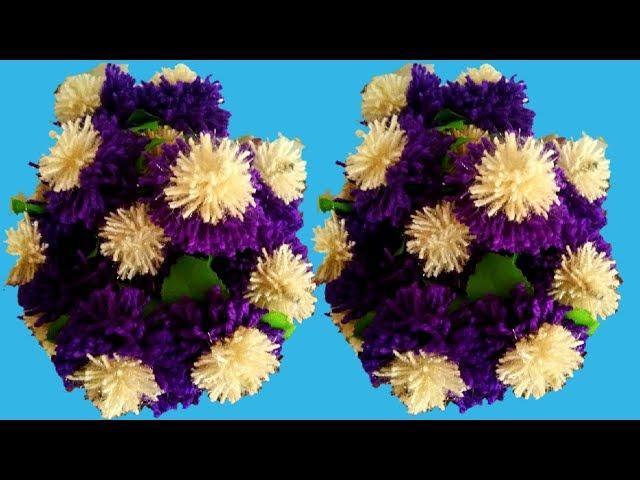 ?? ?? ??????? ???????? ????? ?? ???? ???? ????? ?????/ Fancy flowers pot making