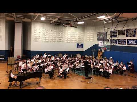 """2018 QVMEA Senior Band - """"Nothing Gold Can Stay:Steven Bryant"""""""
