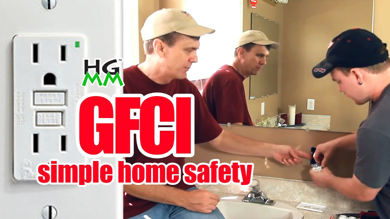 How To Install A Gfci Outlet Simple Home Safety Youtube Wiring