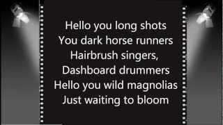 Smash - Crazy Dreams With Lyrics