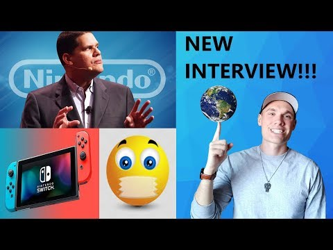 Reggie explains why Nintendo is so SECRETIVE in NEW INTERVIEW!!! (AWON)