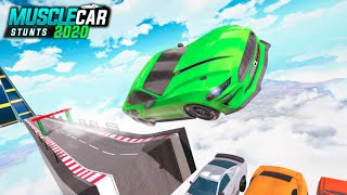 Muscle Car Stunts 2020 Mega Ramp Stunt Car Games . screenshot 2
