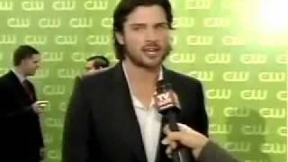 tom welling interview at the cw 2006