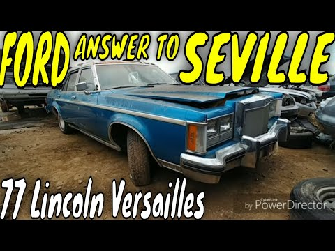 1977 Lincoln Versailles Junkyard Find