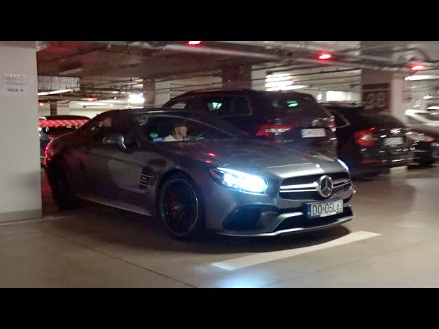 START UP MERCEDES-AMG SL 63 R231 2016 IN WROC?AW (POLAND)