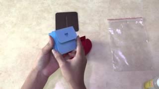 愛心小盒子材料包教學影片