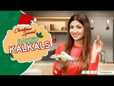 Christmas Special   Baked Kalkals   Shilpa Shetty Kundra   Healthy Recipes   The Art of Loving Food