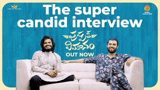 The Super Candid Interview | Vijay Deverakonda | Anand Deverakonda | Pushpaka Vimanam