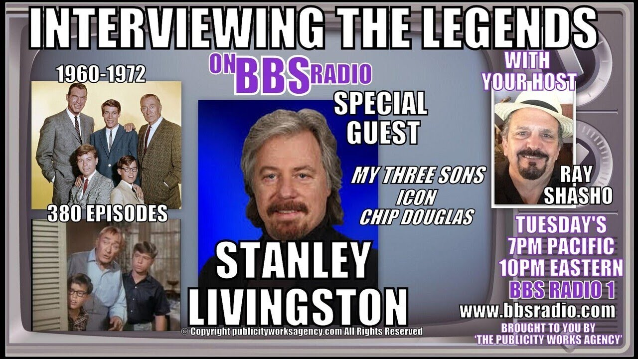 Stanley Livingston 'My Three Sons' Icon