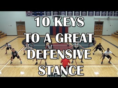 10 Keys To A Great Defensive Stance - Jim Huber
