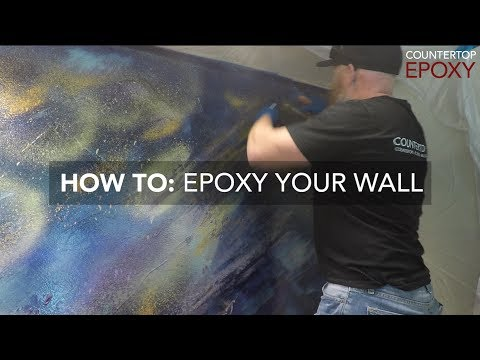 How To Epoxy Your Wall with FX Metallic Wall