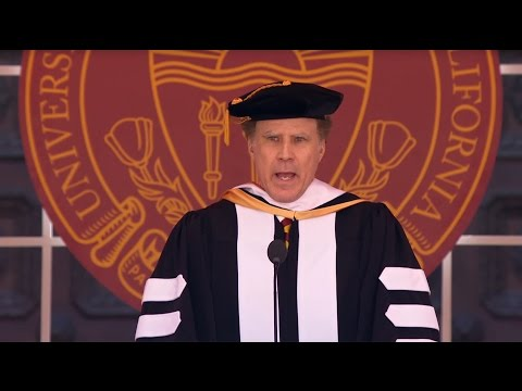 Will Ferrell's USC Commencement Speech IS HILARIOUS! | What's Trending Now!