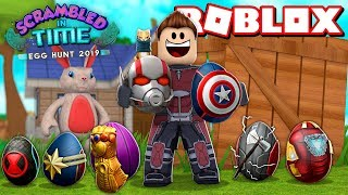 ROBLOX EGG HUNT 2019 - ALL THE OVA OF THE AVENGERS !!