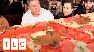 Absolutely Massive Pizza Slice Cake Cake Boss