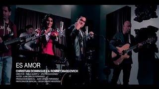 CHRISTIAN DOMINGUEZ feat ROMMY MARCOVICH - ES AMOR (AUDIO HD OFICIAL SETIEMBRE 2015) BACHATA
