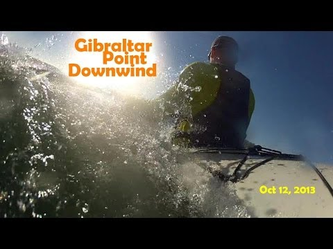 Gibraltar Point Surfski Downwind: Paddling Toronto