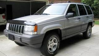 1997 Jeep Grand Cherokee Laredo Start Up, Exhaust, In Depth Tour, and Test Drive