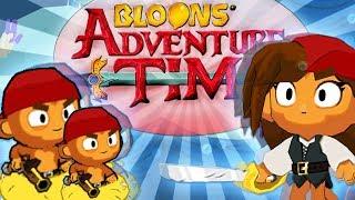 RATUJEMY ŚLICZNĄ PIRATKĘ | #003 | Bloons Adventure Time TD | PL