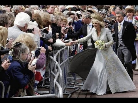 7 Charles Camilla Wedding Greeted By Crowds Of Well Wishers