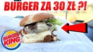 NOWY BURGER Z BURGER KING ZA PRAWIE 30 ZŁOTYCH TEST - SWISS CHEESE